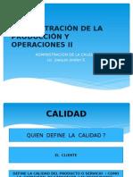 Administración de La Producción y Operaciones II