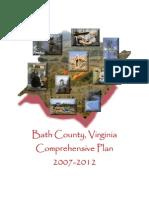 Bath County Comprehensive Plan 2007-2012