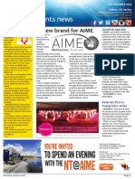 Business Events News for Wed 11 Feb 2015 - New brand for AIME, Tour MEL's new pop up space, You Gold Coast beauty, Gray's Say, and much more