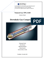 Downhole Gas Compression
