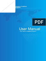 User Manual(Gzf Dw Vi)