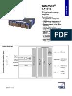MX1615 Data Sheet