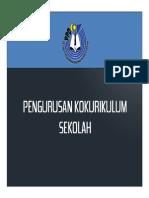 Proses Pengurusan Kokurikulum Sekolah PDF