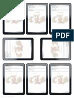 Blank Arcane Spell Cards (6744700)