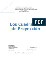 Punto y Su Relacion Con Los Cuadrantes de Proyeccion