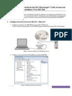 Guia Configuracion Dos PLC Micrologix1200 Ethernet