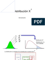 Distribucion Ji - Cuadrada x2