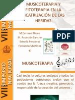 Musicoterapia y Fitoterapia en La Cicatrizacion de Las Heridas