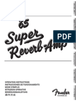 65 Super Reverb Manual