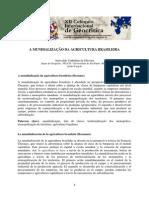 A Mundialização Da Agricultura Brasileira
