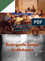 Radiologa Abdominal CICLIPA I