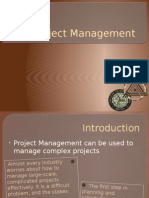 ES - 92 Project Management