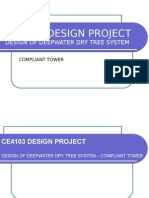 Design of Compliant Tower