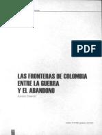 Las Fronteras en Colombia entre la guerra y el abandono