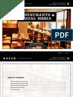 TRG eBook – Restaurants and Social Media