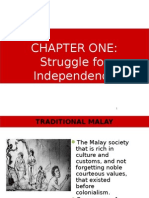 Malaysian Studies CHAPTER 1