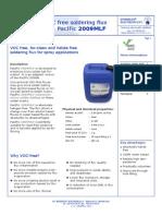 If PacIFic 2009MLF VOC Free Sprayflus