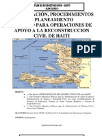 Plan Reconstruccion - Haiti