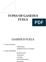 Types of Gaseous Fuels