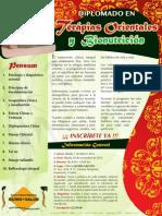 Diplomado Oriental 2014