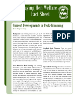 Beak Trimming Fact Sheet