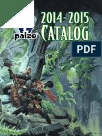 Paizo Catalog 2014
