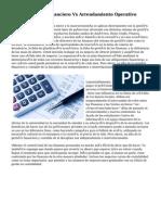Arrendamiento Financiero Vs Arrendamiento Operativo