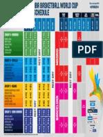 2014 FIBA Basketball World Cup_SCHEDULE