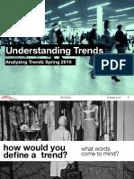 At understanding trend