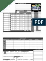 IFR Navigation Log (Jeppesen)