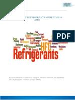 Global HFC Refrigerants Market