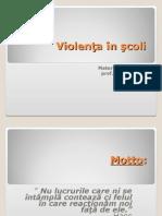 0 Violen a n Coli Proiect1