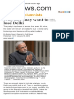 Why BJP May Want to Lose Delhi _ GulfNews