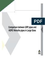 HDPE vs GRP