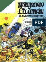 Mortadelo y Filemon - 016 - El Huerto Siniestro