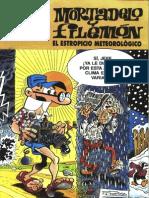 Mortadelo y Filemón - 017 - El Estropicio Meteorologico [Eskolaris]