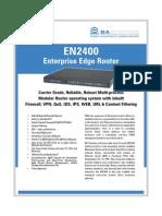 EN2400 PDF Marketing Brochure