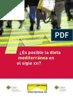 Libro Sobre La Dieta Mediterranea 2011