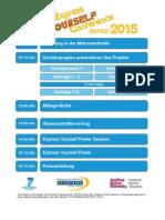 Tagesablauf der nEYC 2015