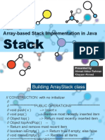 Stack Data Structures in Java
