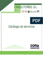 Catálogo Servicios ZONA CONSULTORES Rev3