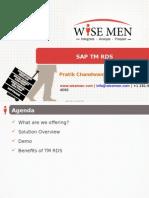 SAP TM RDS - Freight Tendering