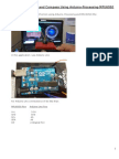 Artificial Horizon and Compass Using Arduino