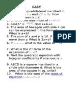 Math Quiz Reviewer