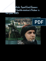Alhamdolillah Syed Zaid Zaman Hamid Policy Statements From FB Battle Station in January 2015 !