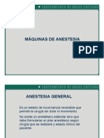Maquinas de Anestesia