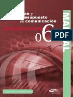 Plan y Presupuesto de Comunicación (6)