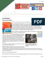 local-express interview gazette