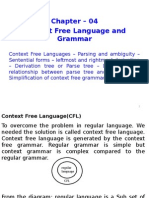 Chapter 04 - Context Free Language