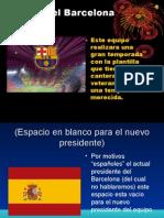 Plantilla Del Barcelona